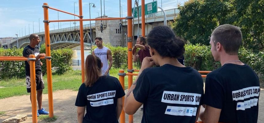 Great Experience for our Maltese youths during the Urban Sports Camp in Budapest.